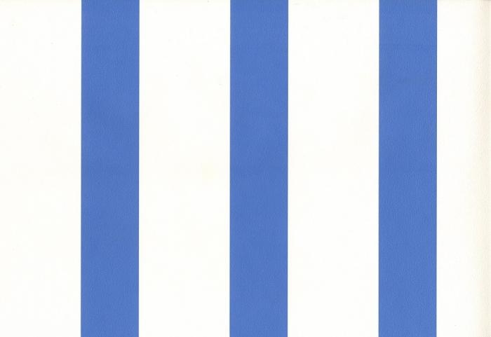 Matt Mid Blue/White Stripe - FPK00190 - Wallpaper - Matt Mid Blue/White Stripe - FPK00190 - Wallpaper - Wallpapers2u